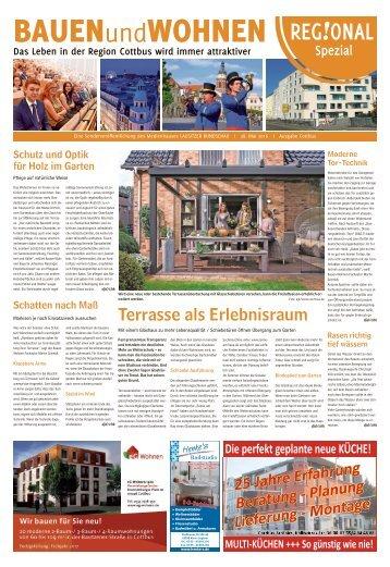 Regional Spezial – Bauen und Wohnen |Das Leben in der Region Cottbus wird immer attraktiver
