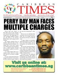 Caribbean Times 18th Issue - Monday 30th May 2016