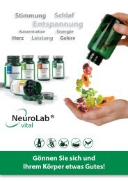 Produktbroschüre NeuroLab vital