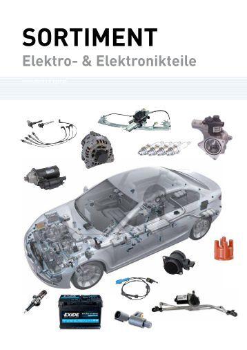 Elektronik Sortimentsübersicht