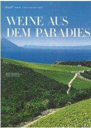 Kroatien - Weine aus dem Paradies (Falstaff 2016-05)