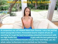 Dating with Nilakshiwani on this Summer