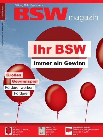 BSWmagazin 02/2016