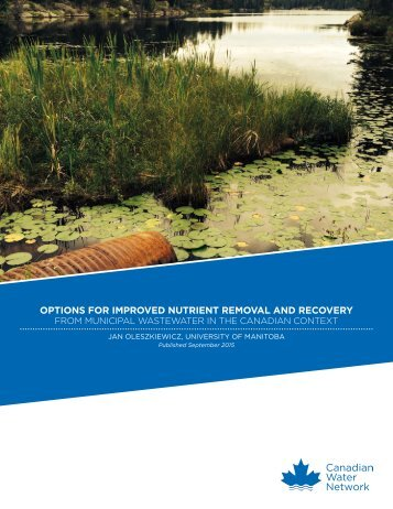 OPTIONS FOR IMPROVED NUTRIENT REMOVAL AND RECOVERY