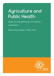 Agriculture and Public Health
