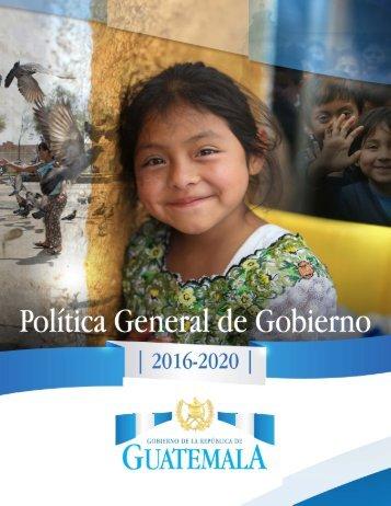 2 GOBIERNO DE LA REPÚBLICA DE GUATEMALA