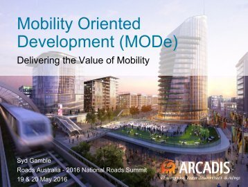 Mobility Oriented Development (MODe)