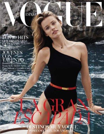 Vogue - Junio 2016
