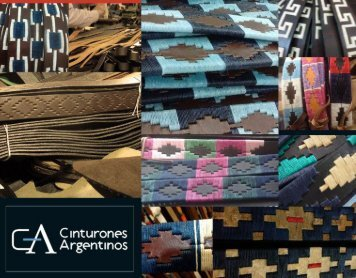BROCHURE Cinturones Argentinos