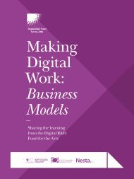 Making Digital Work Business Models