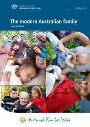 The modern Australian family