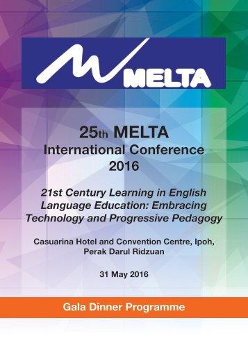Melta program May 31May (Gala Dinner)