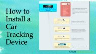 How to Install a Car Tracking Device
