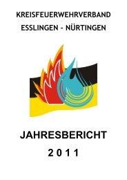 Jahresbericht KFV - Kreisfeuerwehrverband Esslingen-Nürtingen