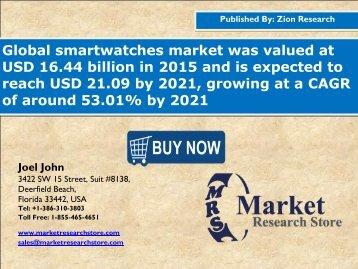 Smartwatches market