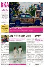 Berner Kulturagenda 2016 N° 21