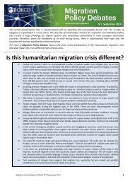 Is this humanitarian migration crisis different?