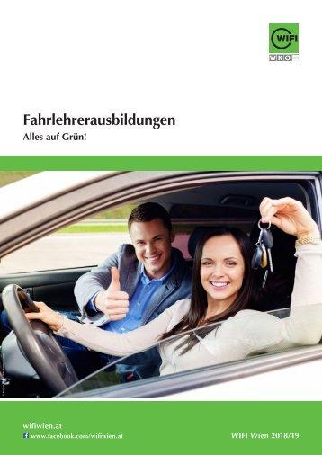 Leitfaden: Ausbildung zum/zur Fahrlehrer/-in, Tages und Abendkurs