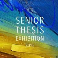 Art: Senior Thesis Exhibition 2015
