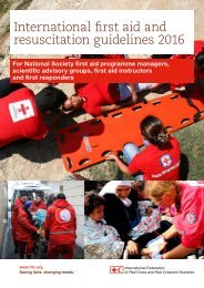 International first aid and resuscitation guidelines 2016
