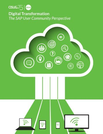 Digital Transformation The SAP User Community Perspective