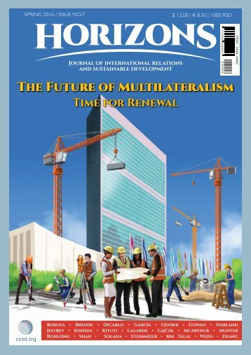 The Future of Multilateralism