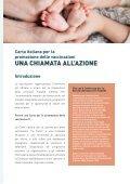 Carta italiana per la promozione delle vaccinazioni - Page 2