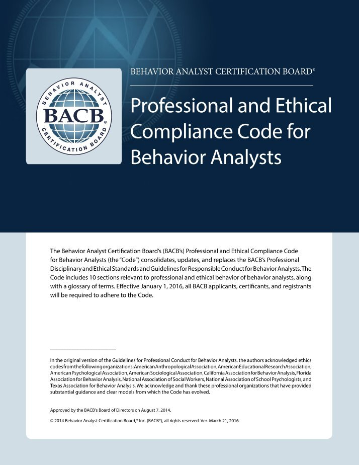 an analysis of the code of professional conduct