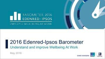 2016 Edenred-Ipsos Barometer