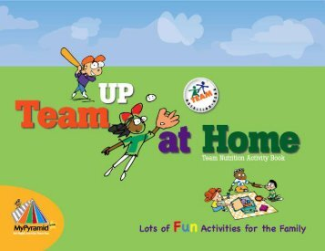 Team Up At Home - Team Nutrition - US Department of Agriculture