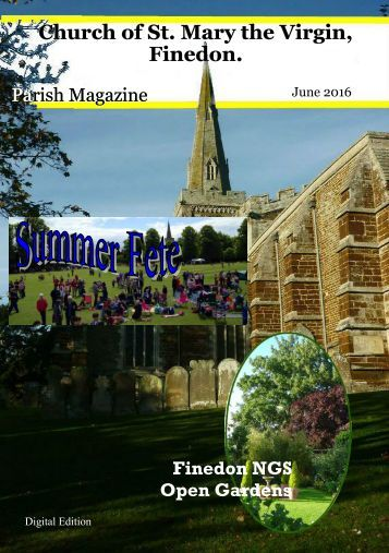 June 2016 Parish Magazine