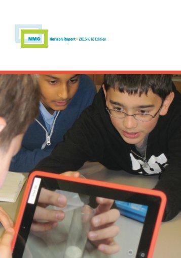 Horizon Report > 2015 K-12 Edition