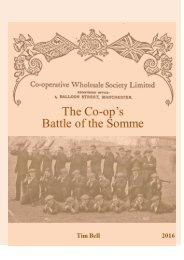 Manchester Co-op's Battle of the Somme