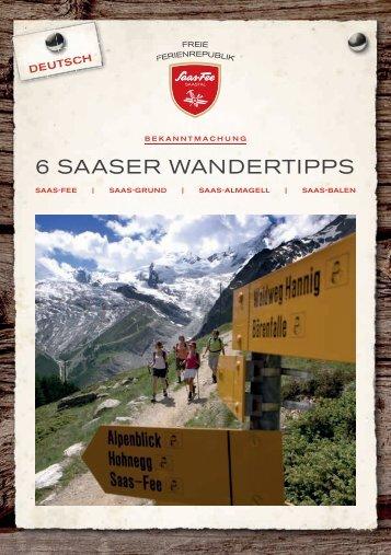 6 Saaser Wandertipps DE