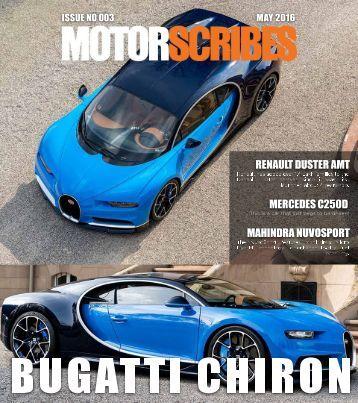 MotorScribes Magazine - May 2016