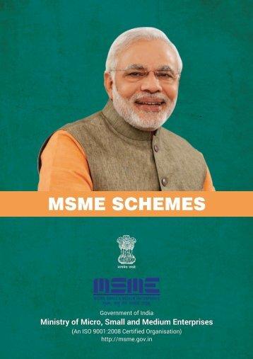 MSME SCHEMES