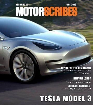 MotorScribes Magazine - June 2016