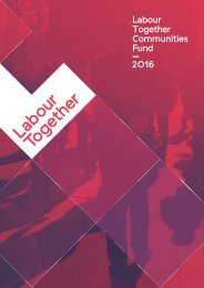 Labour Together Communities Fund
