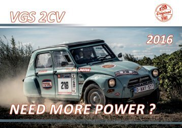 VGS 2CV Catalogue 2016