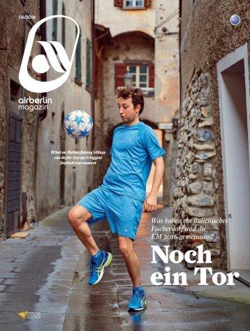 Juni 2016 airberlin magazin - Noch ein Tor