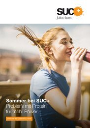 Sommer bei SUC+