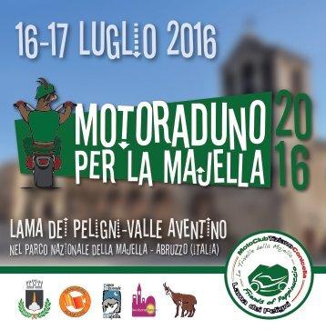 Motoraduno per la Majella. 16-17 Luglio 2016