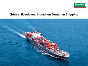 China's Slowdown Impact on Container Shipping