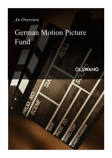 German Motion Picture Fund