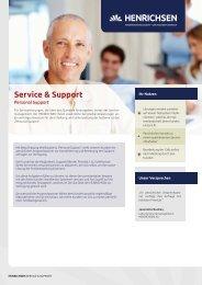 Baustein Personal Support.indd - Henrichsen AG