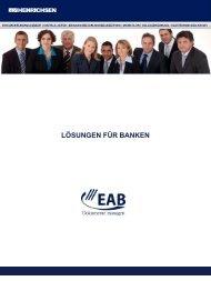 LÖSUNGEN FÜR BANKEN - Henrichsen AG