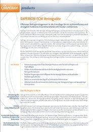 SAPERION ECM Vertragsakte - Henrichsen AG