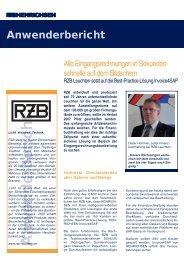 Anwenderbericht RZB.indd - Henrichsen AG