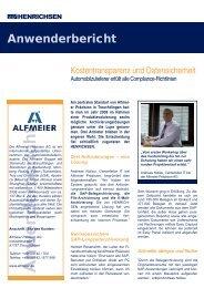 Anwenderbericht Alfmeier.indd - Henrichsen AG