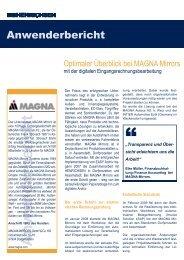 Anwenderbericht - Henrichsen AG